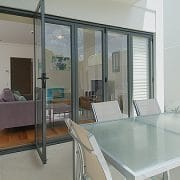 Aluminium Bi-Fold Doors Closed