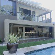bifold doors modern home
